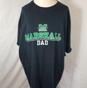 Marshall University Dad Tee Shirt Size 2XL